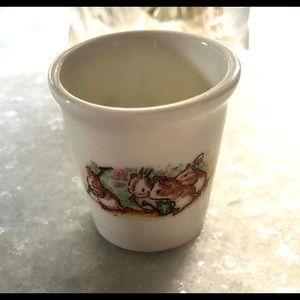 Beatrix & Potter VTGE Miniature Mouse Bucket